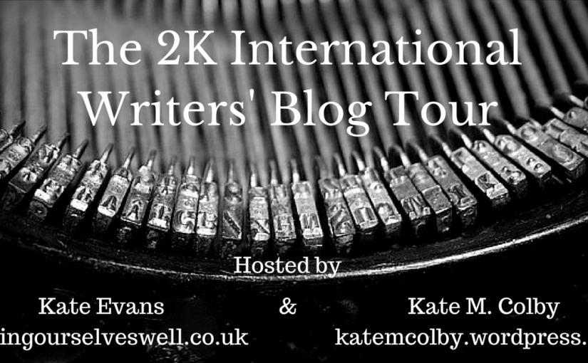 The 2K International Writers' Blog Tour – Kate M. Colby